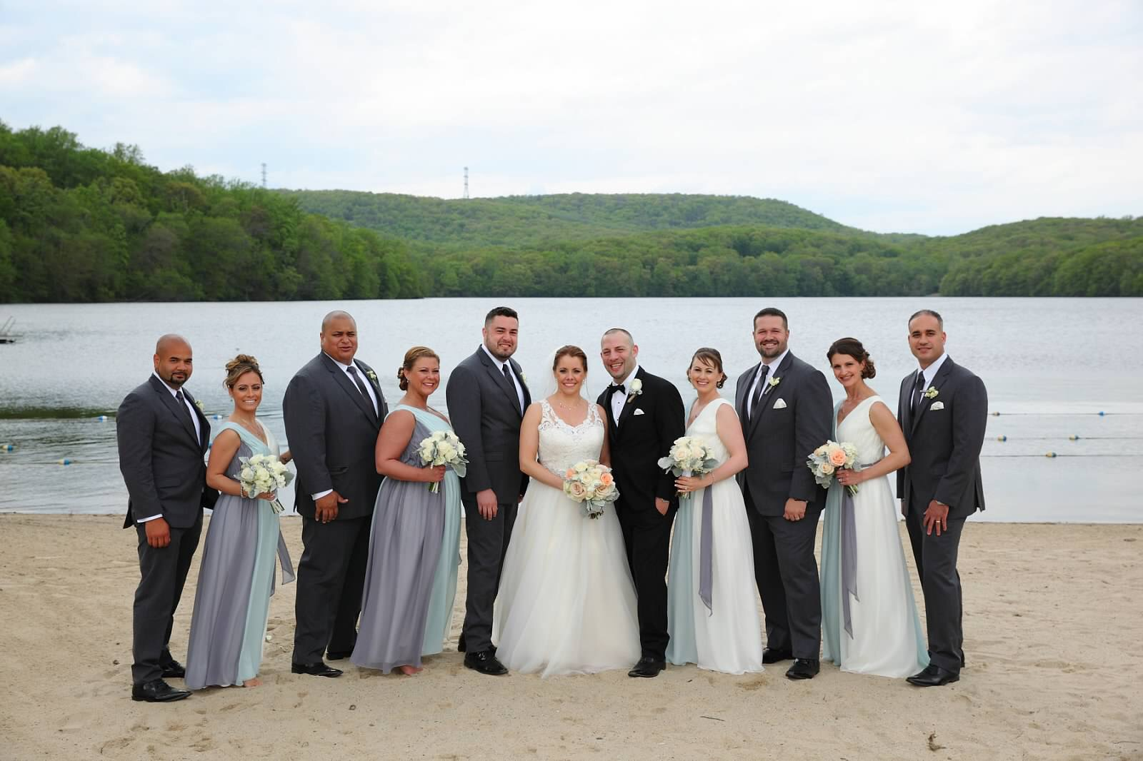 Wedding party Slim fit tuxedos