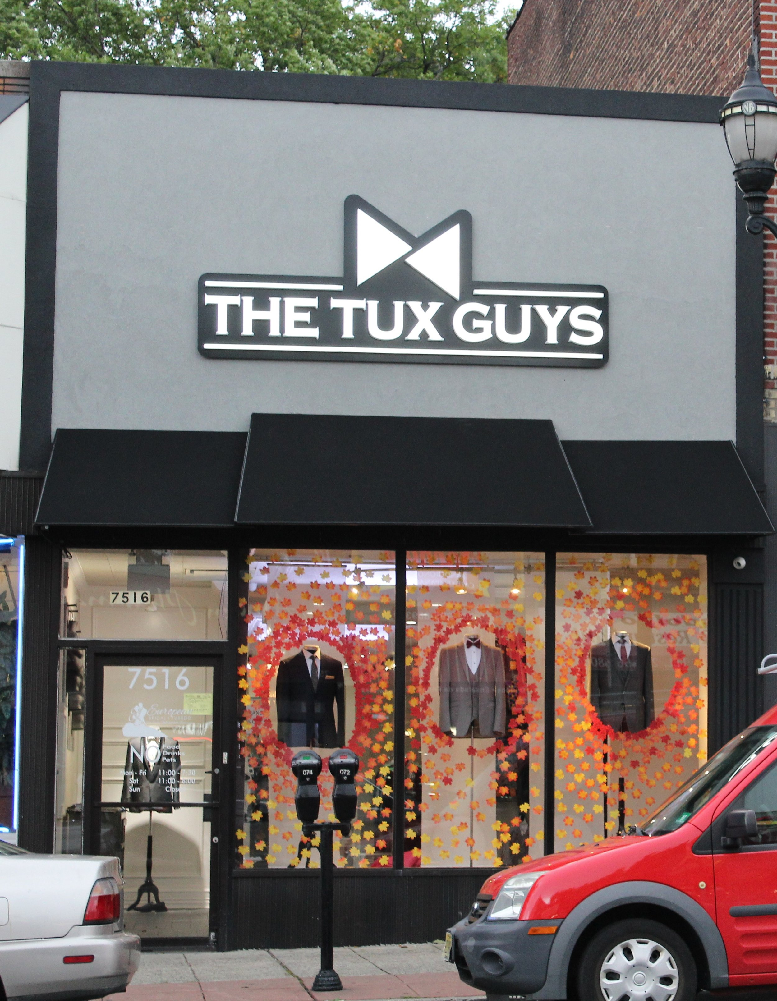 The Tux Guys store front