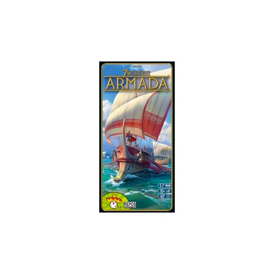 7 Wonders Aramada Expansion