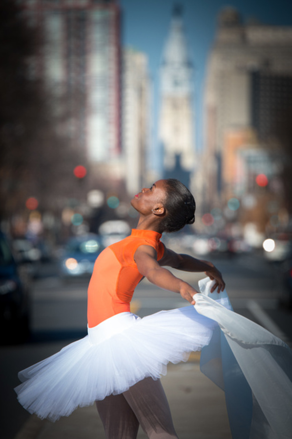 Dancer: Alumna Victoria Jaenson, Charlotte Ballet • Photographer: Susan Beard