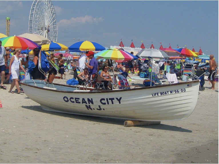 July 7 •Ocean City, NJ - The New Jersey shore is among the most popular vacation destination, and Ocean City is the absolute best! No other boardwalk on the shore has the abundance of amusements and attractions that you find on the OCNJ boardwalk. Escape the city life and cool off for a day.All Levels. 5 & 6-week session studentsPRICE: $40Purchase Deadline: Wednesday, July 3