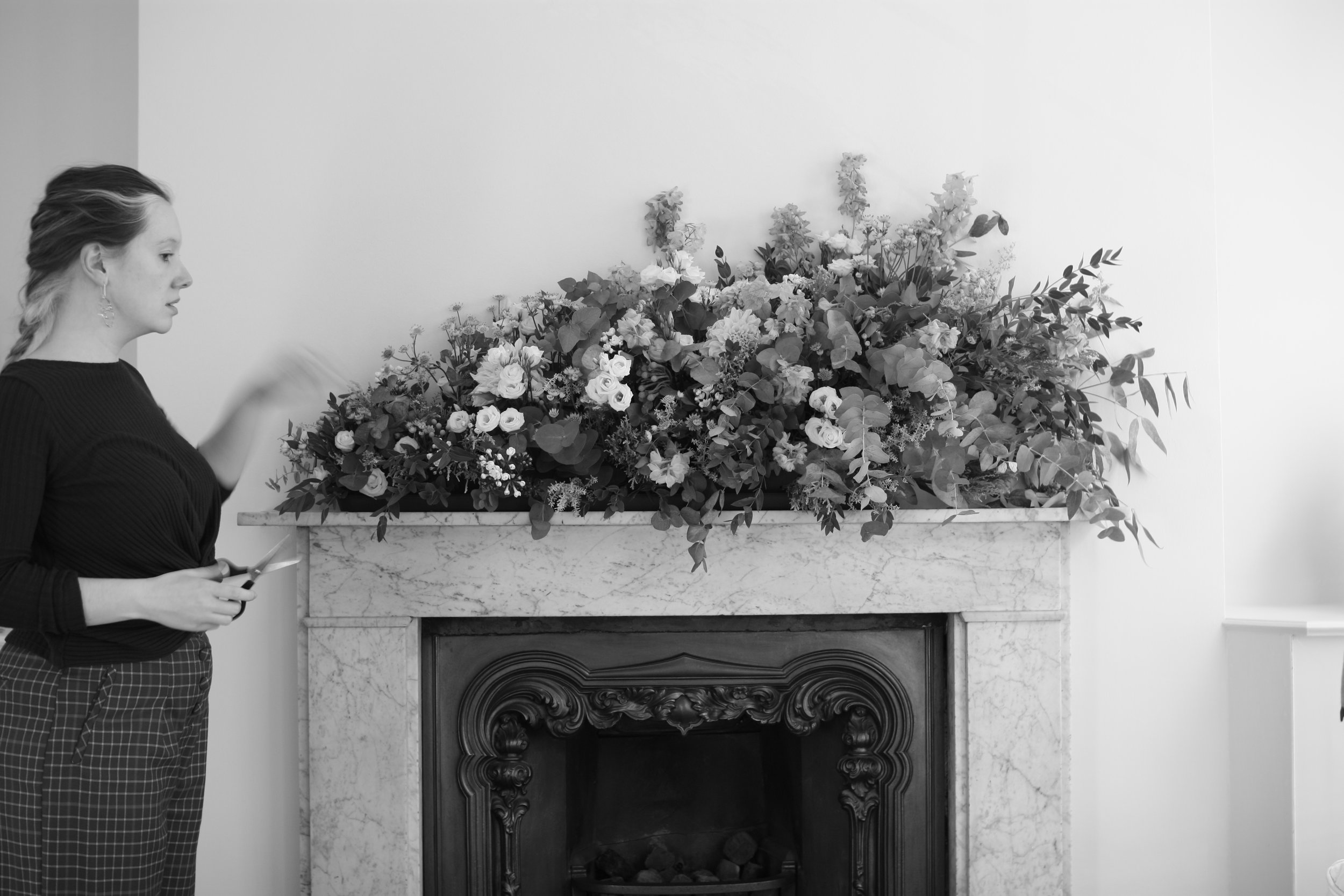 Half fireplace me black and white.jpg