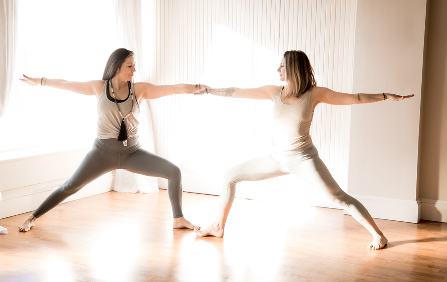 Meet Stef & Tina - Local co-owners Stef and Tina bring a wealth of experience to the studio and community. Not only through their love of and years of practicing yoga, but with lives rooted in holistic wellness.