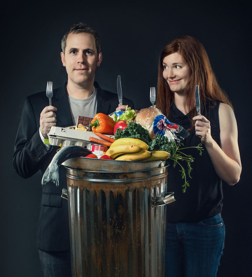 "Grant and Jen from ""Just Eat It"""