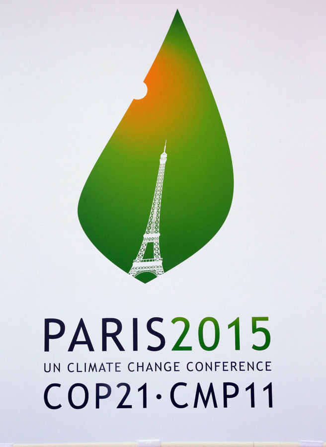 UN Climate Change Conference poster for 2015.
