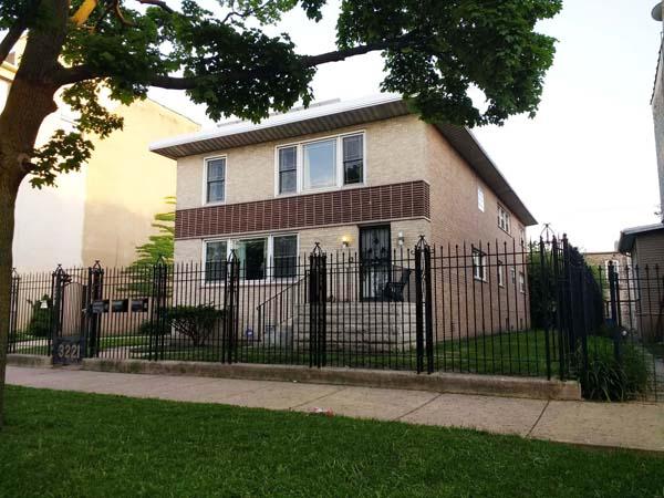 Annette Britton's home in Garfield Park.