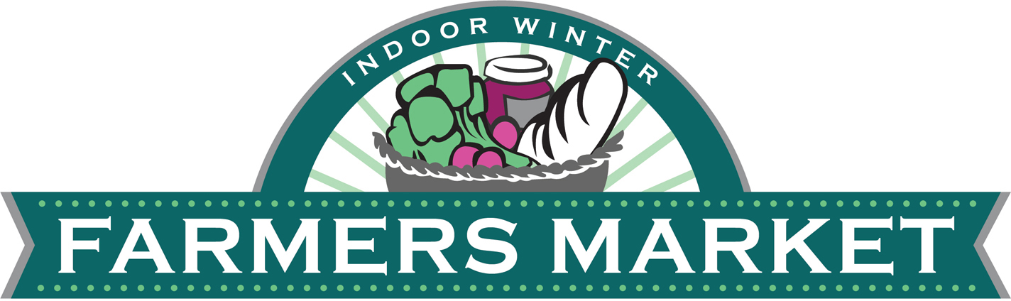 Indoor winter farmers' market logo