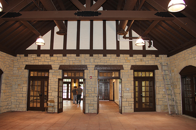 Recently renovated Thatcher Pavilion will be the space for the ProAction Cafe.