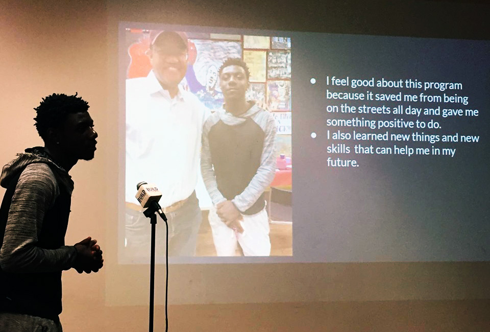 Tray makes his final presentation about the summer and its impact.