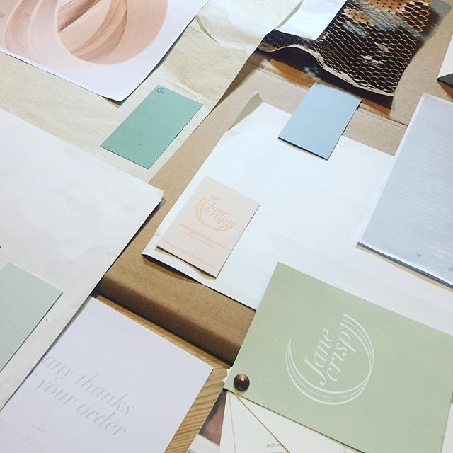 Decisions, decisions, decisions ... Thanks @letticadesign for sending this amazing colour palette of paper samples 🌈 now all I need to do is choose one 😄