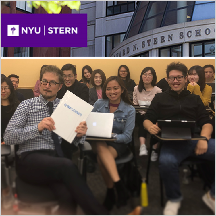Guest Lecturer & Judge at NYU Stern Graduate MBA Marketing Final Project  - New York, NY, Jan 2018