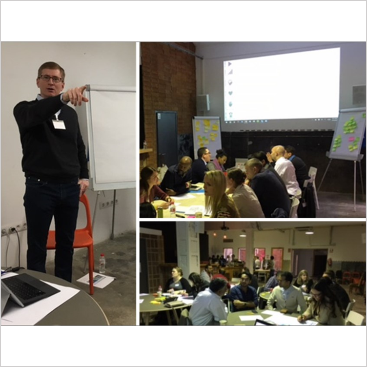 Conducting Customer Empathy workshops  - Barcelona, Spain, Jan 2017