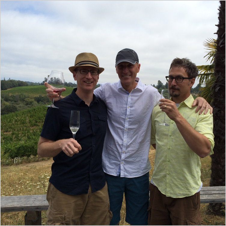 WideOpen family trip  - Sonoma, CA, Aug 2014