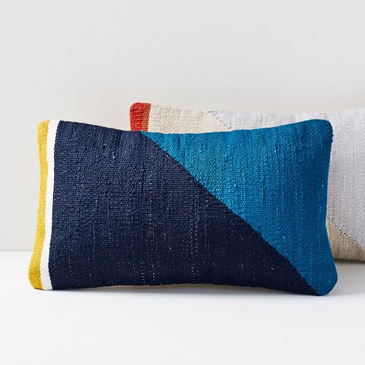 Spliced Colorfield Pillow Covers -