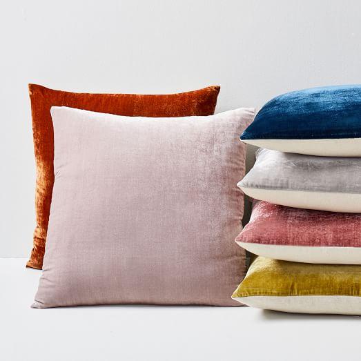 Lush Velvet Pillow Covers -