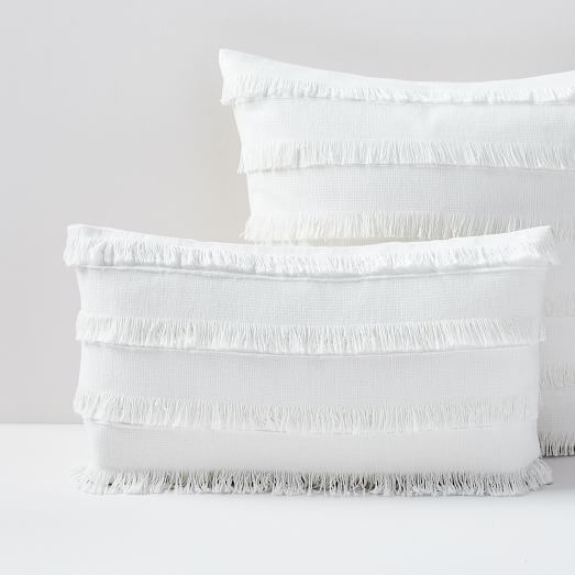 Fringe Pillow Covers -