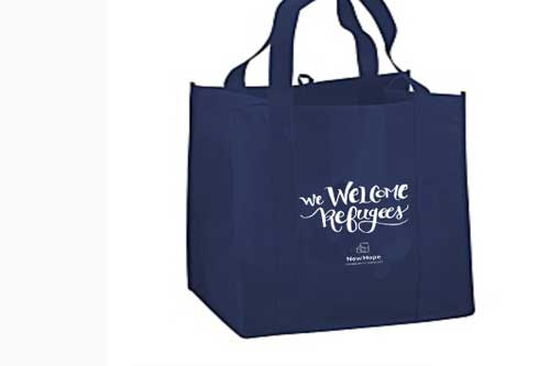 Event swag & signage - Custom designed lettering for swag items and signage for your events to add a meaningful touch.