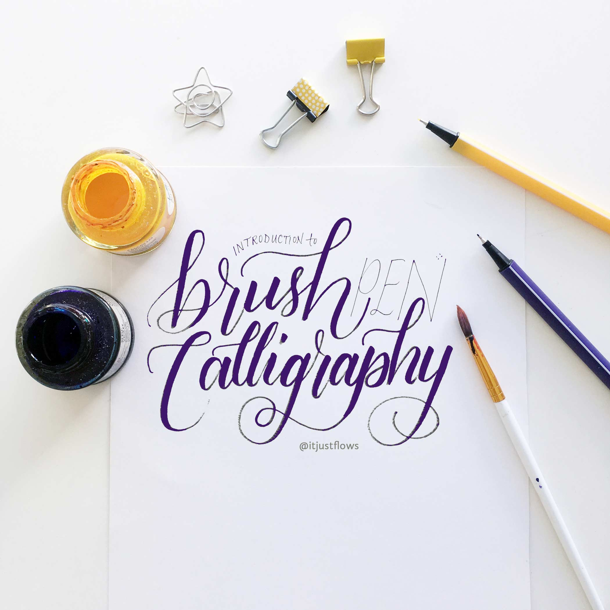 sq-white-BRUSH-purple-calligraphy-itjustflows-web.jpg