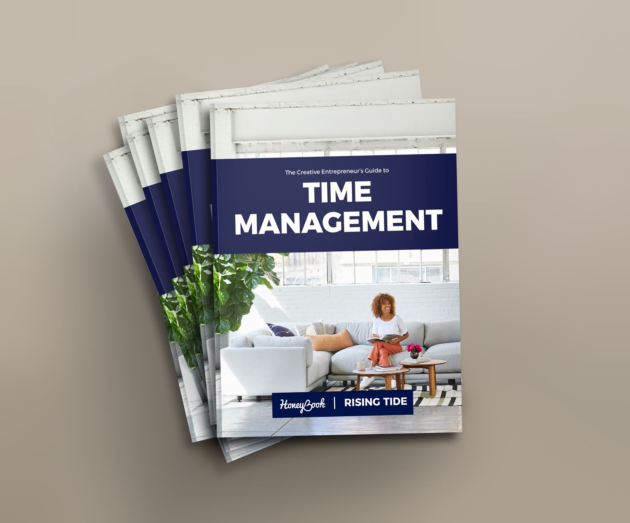 Stop trying to manage your time, and manage this instead… I get real about some time management misnomers in this blog post on Rising Tide Society, a community full of free resources for creativepreneurs.