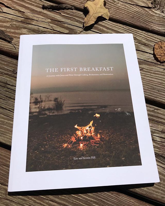 "Are you looking for a way to engage your heart with Jesus as you start your semester? Or maybe a book to discuss and go through with your friends this Fall?  My dear family-friends @eric.hill_ and @mrskristinhill just released their second book, ""The First Breakfast."" I first heard of the content that is ""The First Breakfast"" 3 years ago at a short retreat where we walked through the story of Peter and Jesus. Eric and Kristin broke down the Greek/Hebrew to reveal the depth of meaning and pursuit of Jesus' love and redemption despite Peter's failures and brokenness.  I remember on that retreat, I got maybe one of the best nights of sleep I have ever had. My heart was truly at rest. And that is the effect of this message. We experience soul-level rest when we realize and believe that God's covenant is greater than our commitment. And the name that He gives us is the truest identity we possess. Wow ☺️ Anyways, I HIGHLY recommend this read!! I am pumped about starting this 40-day journey right now as I step out into the next leg of my life in Nashville.  NOTE: their other book ""Go and Tell No One"" is my favorite study I've ever done. If that tells you anything!! Check out @withyouministries to see more! Book is available on AMAZON. 💗 #thefirstbreakfast"