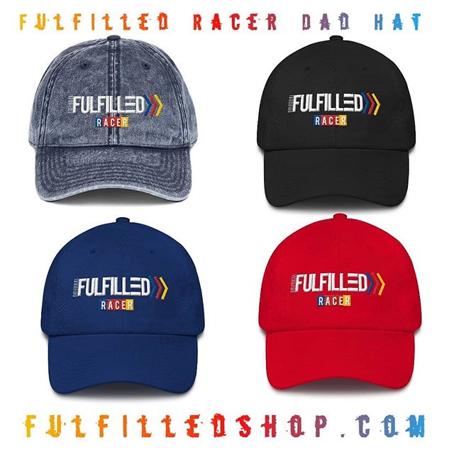 🔥🔥 Fulfilled Racer Dad hats now available on the website! (Link in bio)