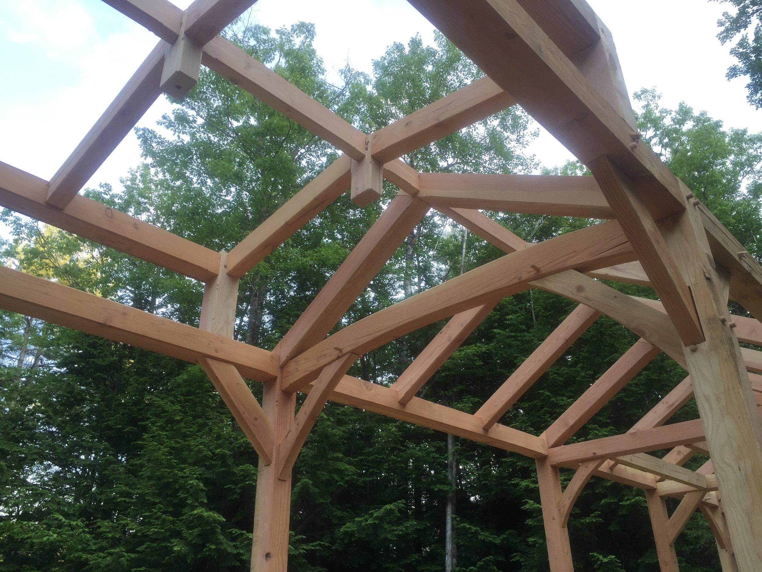 Timber Frame Raising