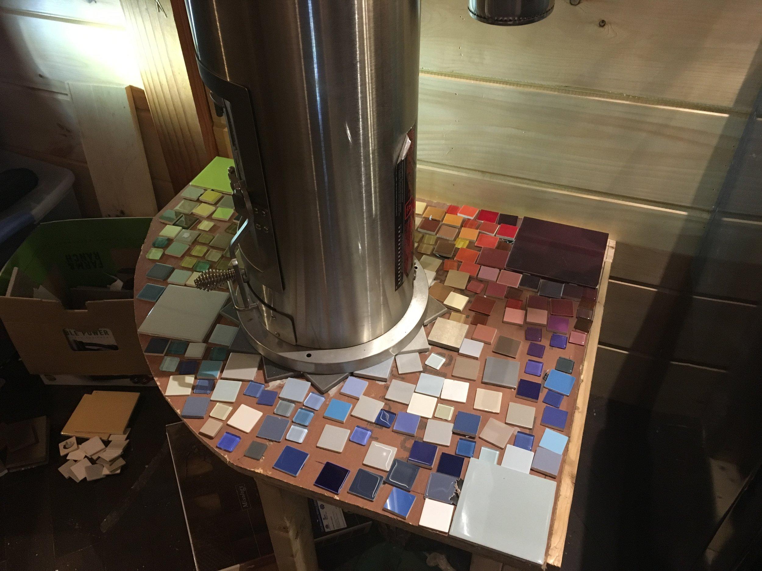 Mosaic Hearth