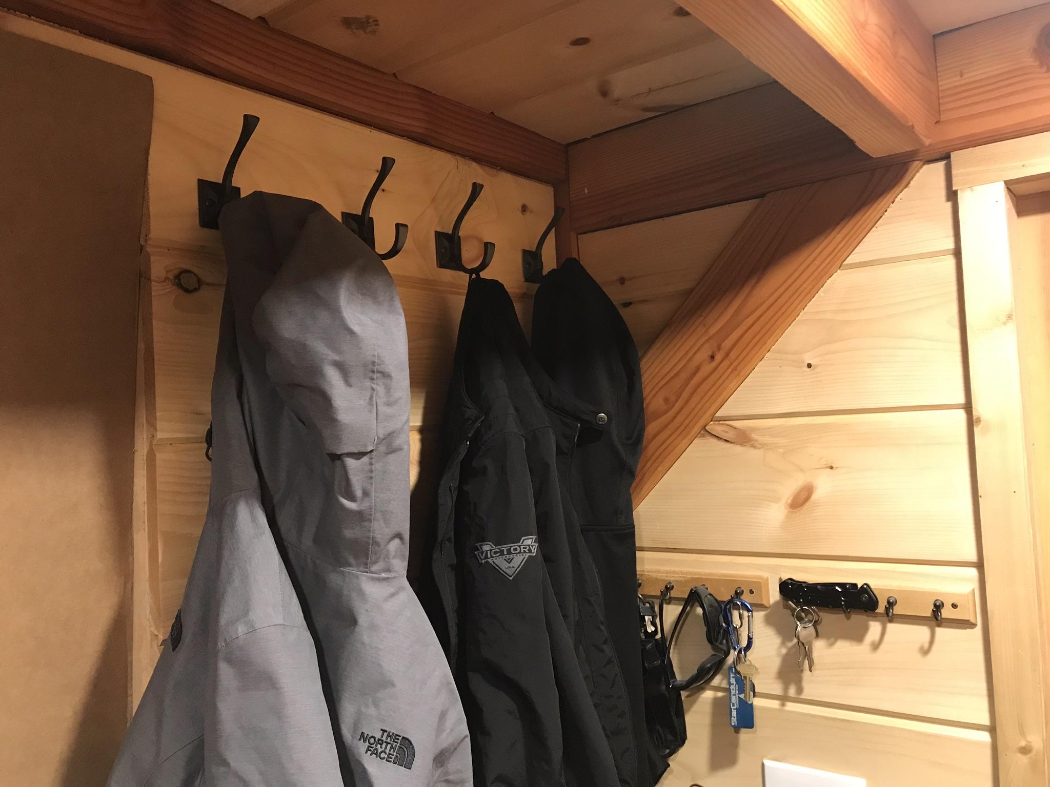 Front Hall Hooks