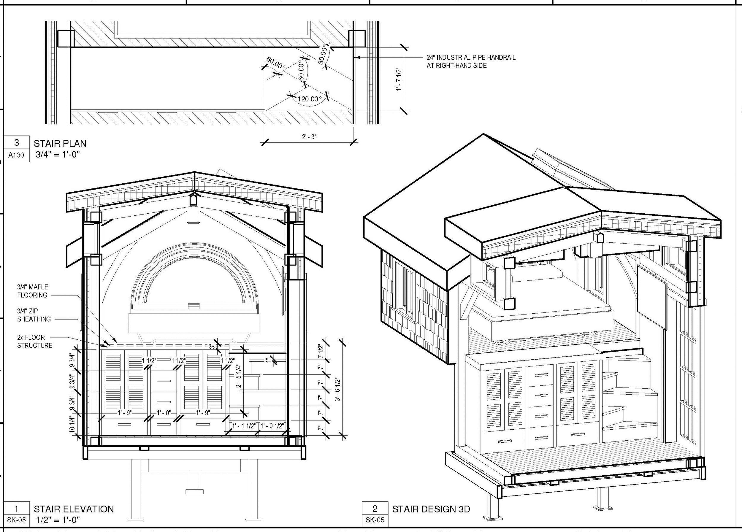 WARDROBE & STAIR DESIGN