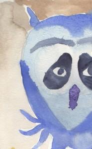 Albert Wise Owl, buddy of Wunda Wunda, MOHAI, Seattle