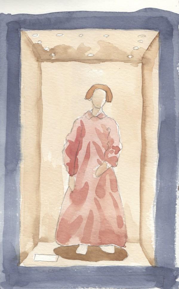 1850's maternity wrapper, MOHAI, Seattle