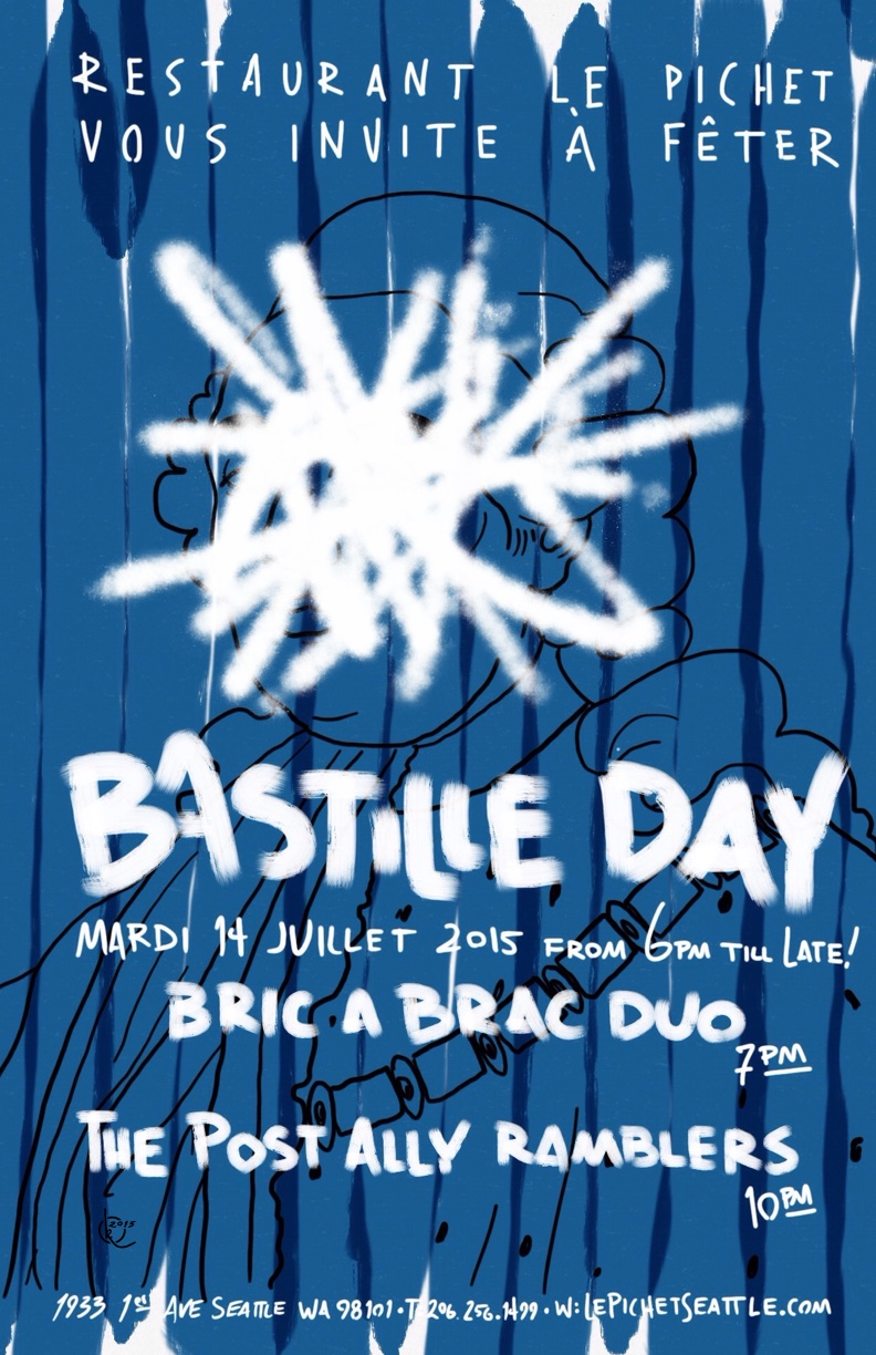 Bastille Day 2015 (Blue)