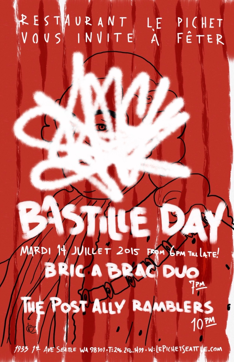 Bastille Day 2015 (Red)