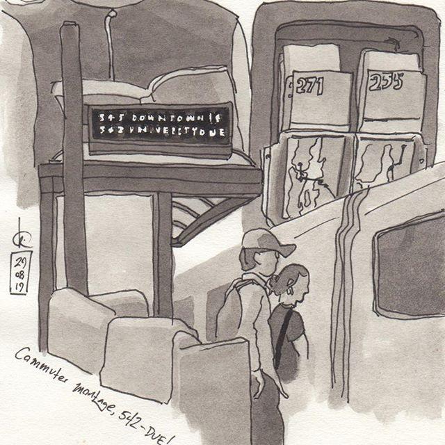 Commuter montage: 542 - DUE!