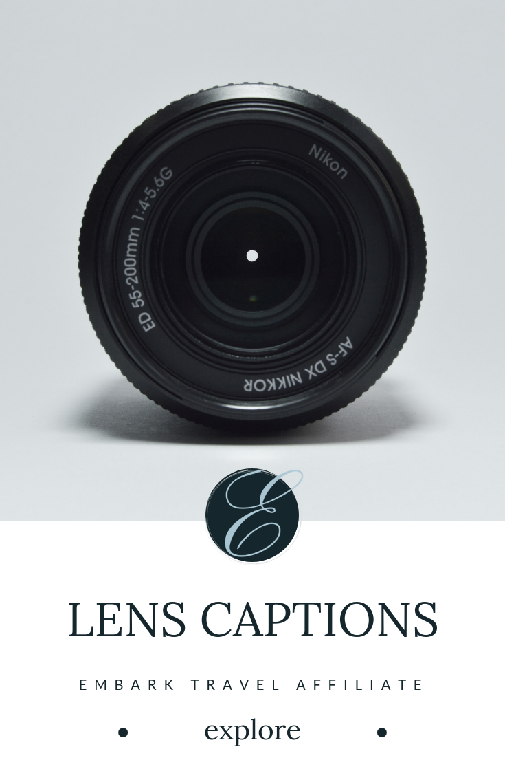 Where Art and Photography Collide - Customize your lens covers with an assortment of design choices from Lens Captions! These unique pieces make great gifts for travel photographers.Disclosure: This page contains affiliate links. If you click through and purchase a product, we will earn a commission at no additional cost to you.