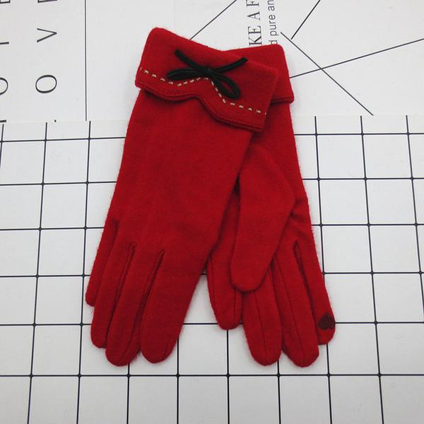 Clarissa Cashmere Gloves Red.jpg
