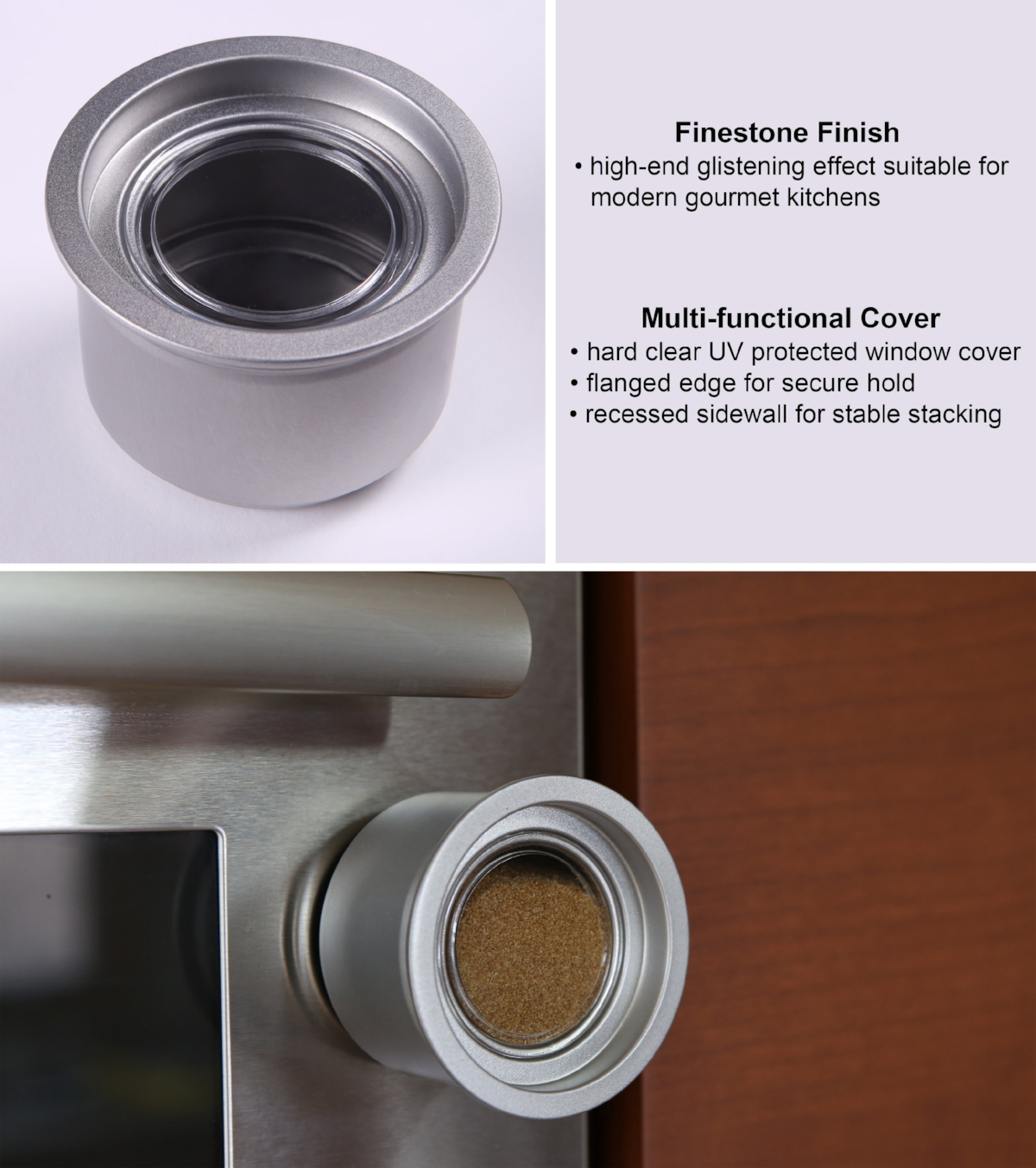 High-end Finish--High-end Functionality