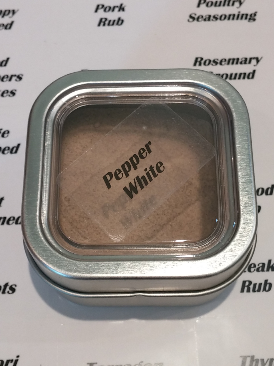 Spice & Pantry Labels
