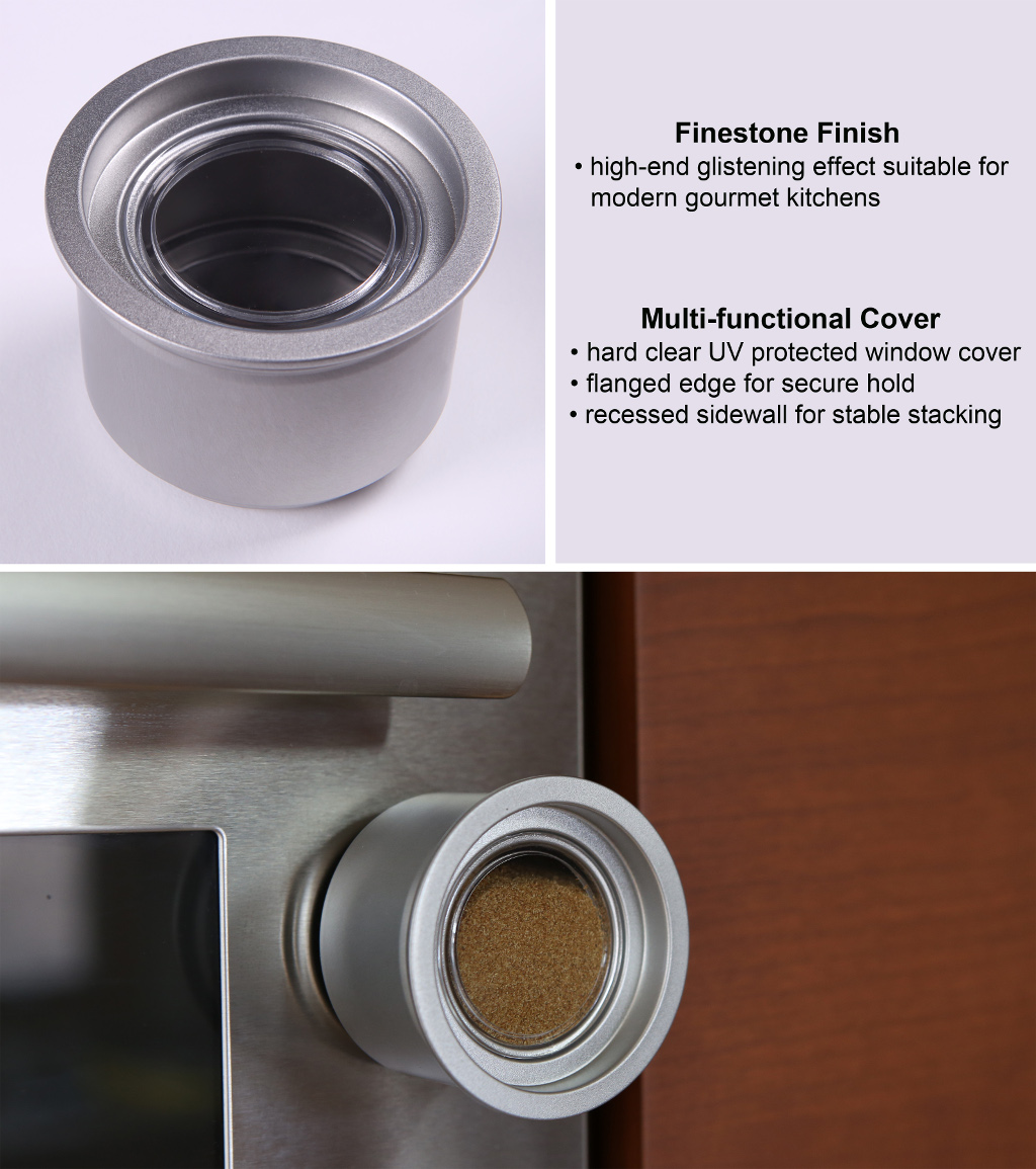 High-end Features - Finestone FinishUV protected window lid