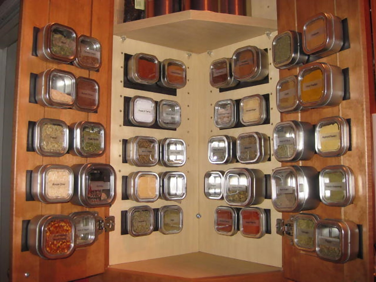 Good Use of Bad Cupboard Space -