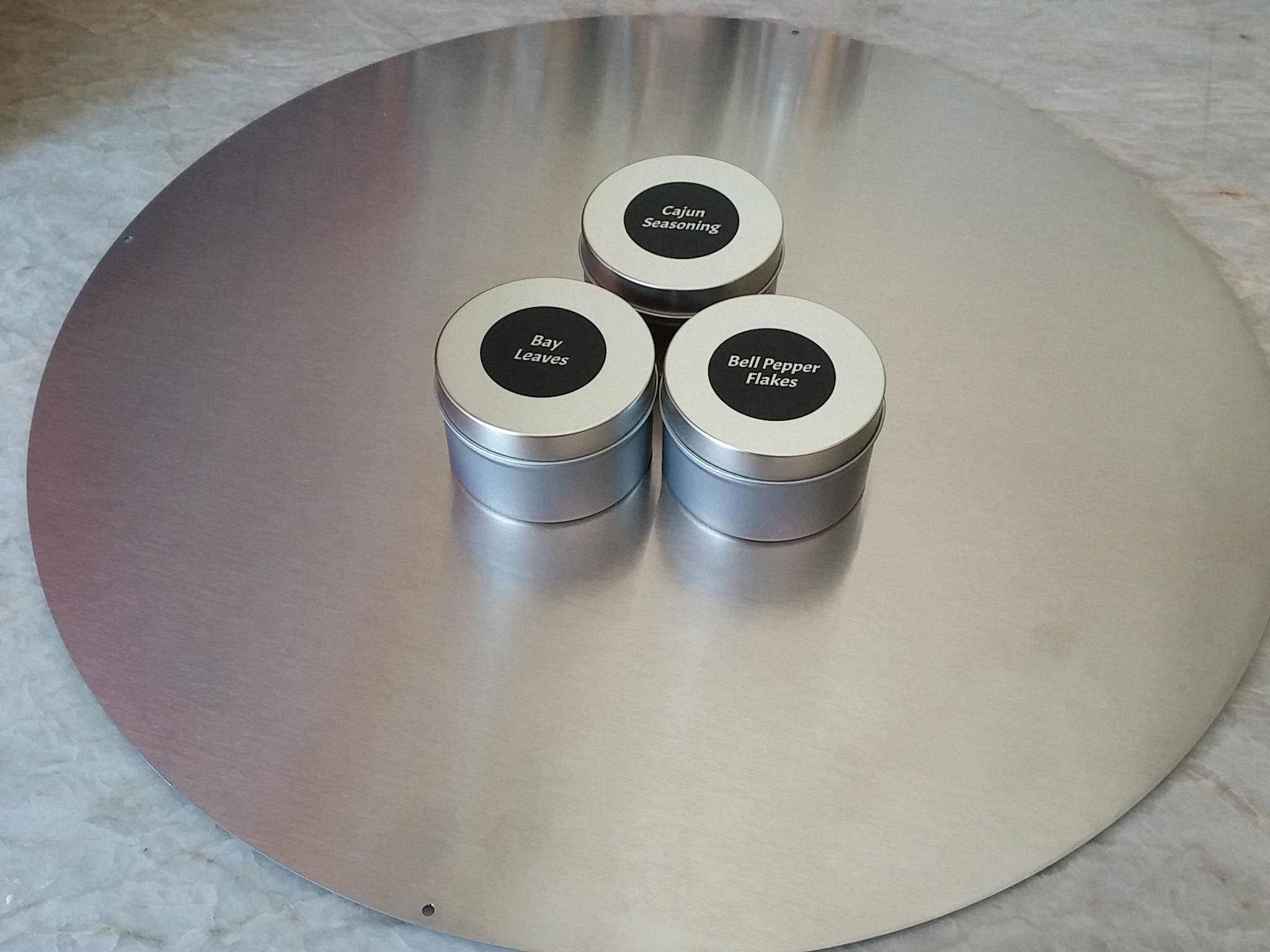 No, it's not a plain tin, but a Modern Beauty