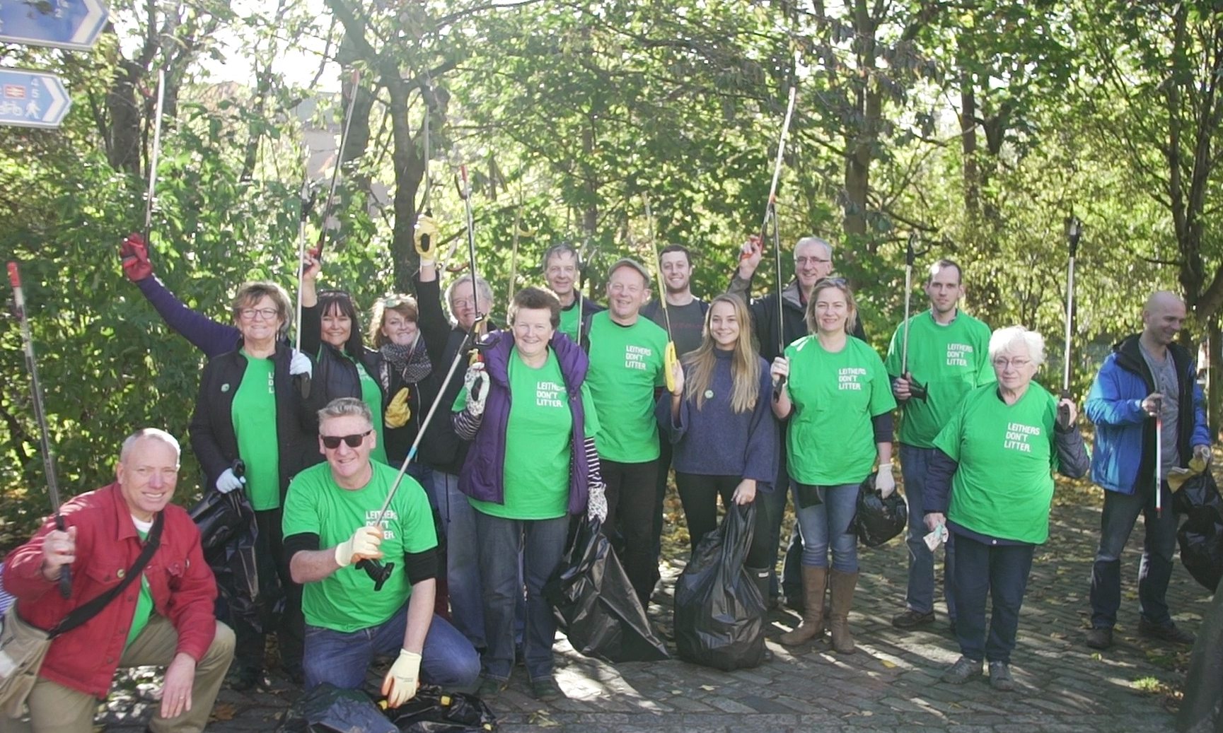 Take Action - Help us make Leith litter-free. Adopt your street, join our cleanups, report messy streets and spread the word.