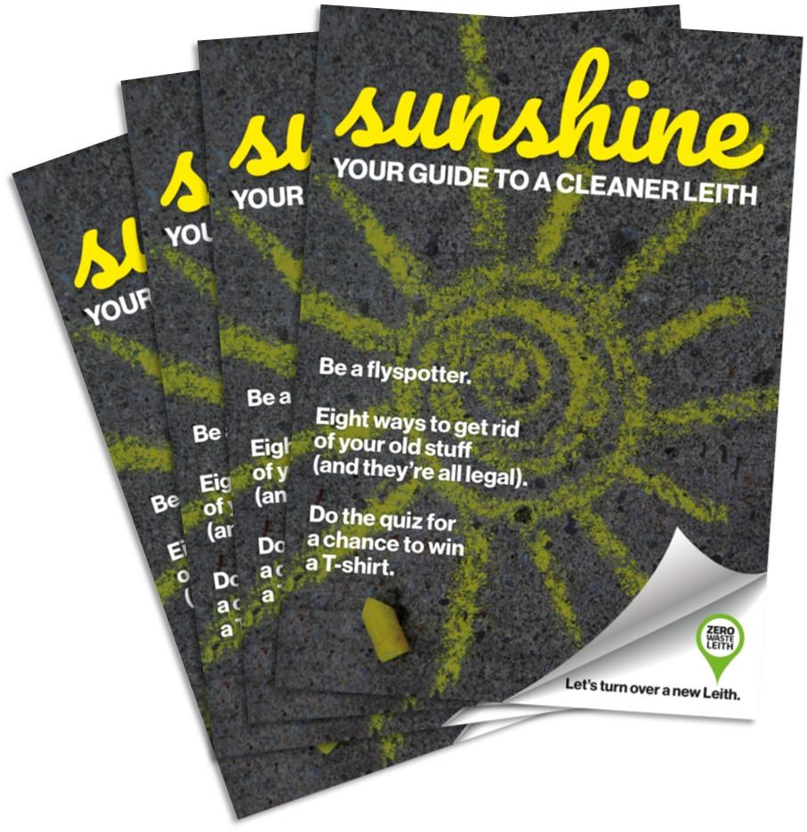 Sunshine booklet