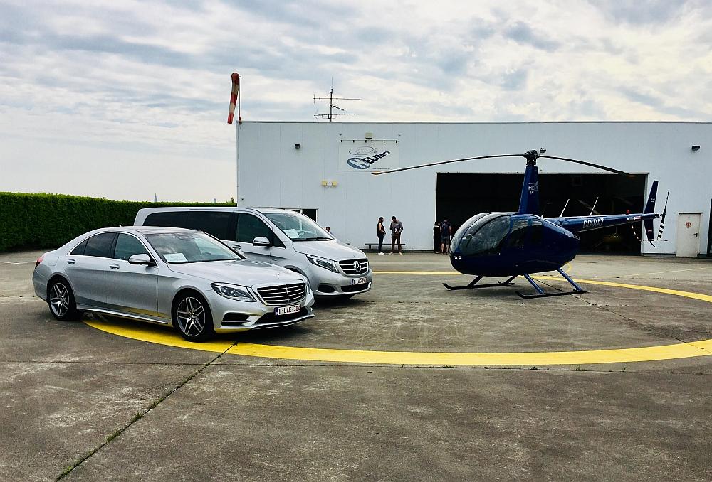VIP limousine and minivan service - heliservice