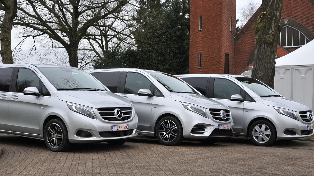 Mercedes classe V - VIP - 7 passagiers - conference seating