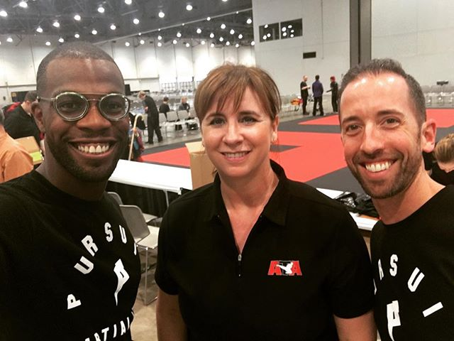 Thank you Chief Master Kathy Lee for teaching an amazing seminar. Your leadership and energy is infectious. #taekwondo #minnesota #plymouthmn #martialarts #songahm #pursuitmartialarts #atastrong