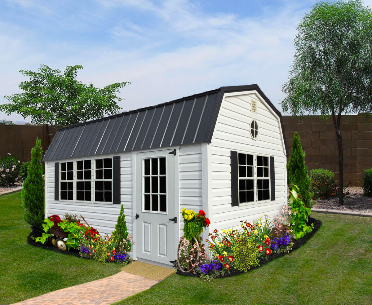 Vinyl Sheds Customize Options Amp Colors Liberty Storage