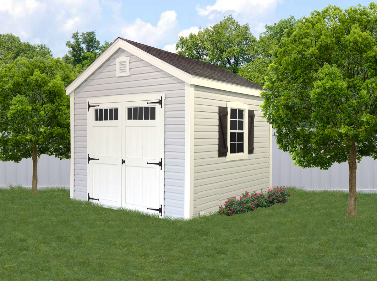 Southern Classic Painted Sheds Liberty Storage Solutions