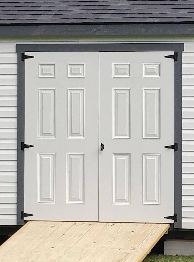 Single Fiberglass Door $200 Double Fiberglass Door $400