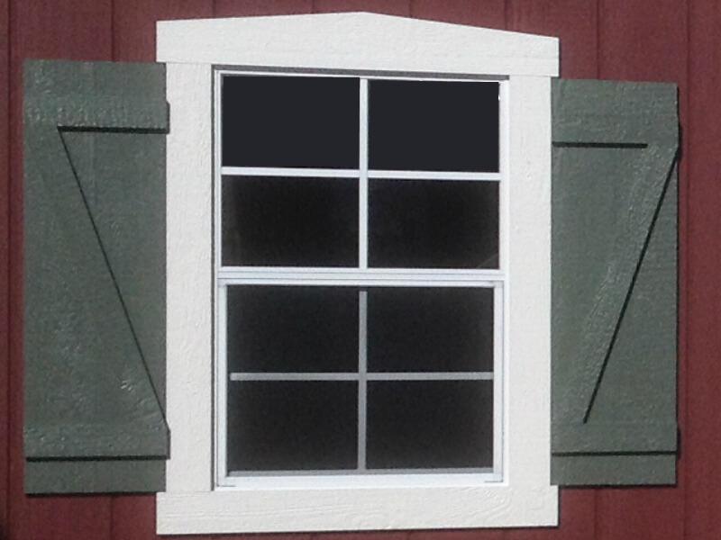 24x36 Window $100 Z-Shutters $50 per pair